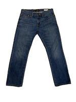 Guess Jeans Slim Straight Del Mar Fit Blue Mens Size 32x28 Vintage EUC