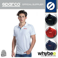 NEW! SPARCO MOTORSPORT RACING POLO SHIRT 100% COTTON - 4 COLOURS - ALL SIZES!