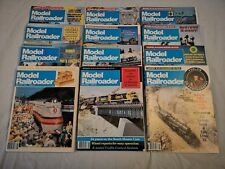 Vintaga Model Railroader Magazine Full Year 1984