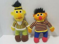 Vintage Hasbro Softie Sesame Street BERT AND ERNIE PLUSH DOLL LOT