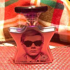 Andy Warhol by Bond No 9 Eau de Parfum Face Rare discontinued Lightly Used 1.7