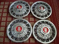 """1981-1982 Ford Grand Marquis & LTD   Set of Four 14"""" Wire Hubcaps"""