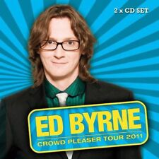 Ed Byrn Crowdpleaser by Ed Byrne 2 CD Audio Book