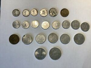26 East Germany DDR Coins - Various Denominations - Dates From 1948