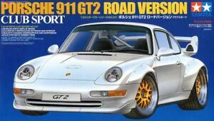 Tamiya 24247 1/24 Model Car Kit Porsche 911 GT2 Road Version Club Sport 993