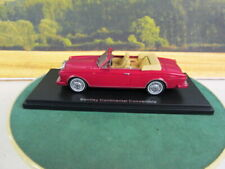 NEO. Bentley Continental Convertible. Red. 1985. 1:43. NEO44158