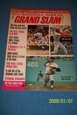 1972 Grand Slam ST LOUIS Cardinals JOE TORRE No Label BASEBALL ANNUAL Tom SEAVER