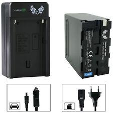 SK Akku für Sony NP-F990 10400mAh + Ladegerät NP-F970 | 1060369-90263-90302