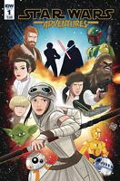 STAR WARS ADVENTURES #1 CHARM COVER IDW COMICS PRINCESS LEIA REY