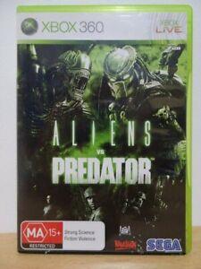 Aliens vs Predator...XBOX 360 Game...   FREE POST AU