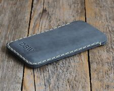 Leather Case Cover for iPhone Se 2020 and Other Sizes. Personalised Sleeve Pouch