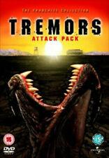 Tremors Attack Pack 1-4 BOXSET DVD Region 2