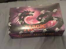 MTG MAGIC BOOSTERS BOX SEALED/SCELLEE ICONIC MASTERS
