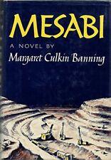 Mesabi [Dec 01, 1969] Margaret Culkin Banning