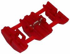 6x Cosse connecteur raccord électrique rapide 0.5-0.75mm2 isolée rouge