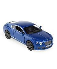 New Kinsmart 2012 Bentley Continental GT Speed Diecast Model Toy Car 1:38 BLUE