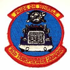 USAF 363D Transportation Squadron PRIDE ON WHEELS Patch Price Sultan Air Base
