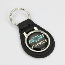 Chevy Chevrolet Caprice Logo US Muscle Car Echt Leder Schlüsselanhänger Anhänger
