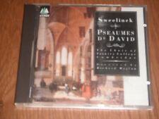 Sweelinck: Pseaumes De David - Trinity College Choir (CD)