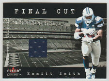 "EMMITT SMITH Cowboys 2001 Fleer Genuine ""Final Cut"" GAME WORN JERSEY Uniform SP"