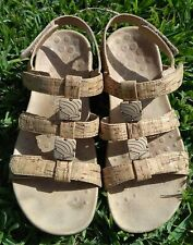 Womens Vionic Stones Cork embossed Sandals, Shoes, Size 6