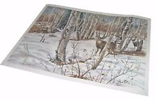 "【RARE】29x20 ""Nature's Camouflage"" Hal Rice Signed Limited Edition Wildlife Print"