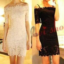 Lace Hand-wash Only Formal Floral Dresses for Women