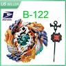 New Geist Fafnir Beyblade Burst B-122 STARTER SET w/L-R Launcher - USA SELLER-!!
