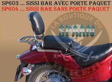 SISSI-BAR HONDA VT600 SHADOW...AVEC PORTE PAQUET CHROME..SP603 LABOUTIQUEDUBIKER