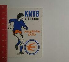 Aufkleber/Sticker: KNVB afd Limburg Jeugdaktie Polio (261216105)