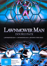 F1 BRAND NEW SEALED Lawnmower Man + Beyond Cyber Space (DVD, 2010) DOUBLE PACK
