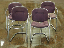 4 x BEST CHIC 70's GASTONE RINALDI  ERA CANTILEVER SLING CHAIRS