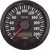 Vdo compteur de vitesse compteur de vitesse 100mm à 200 km/h