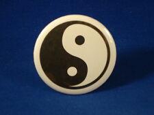 Yin Yang Lot of 5 Buttons pins Tao balance badge pinback Eastern Fundraisers
