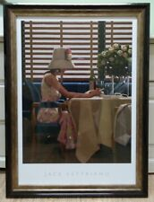 Days of Wine and Roses by Jack Vettriano Large Deluxe Framed Art Print 78x58 cm