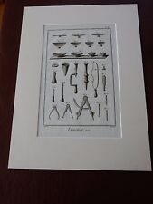 OPTICIAN OPTICAL  amazing mounted 1700s engravings equipment k GIFT POTENTIAL