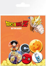 Dragon Ball Z Mix Anime Badge Pack Pin Badges