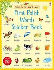 Farmyard Tales First Polish Words Sticker Book by Heather Amery (Paperback, 2015)