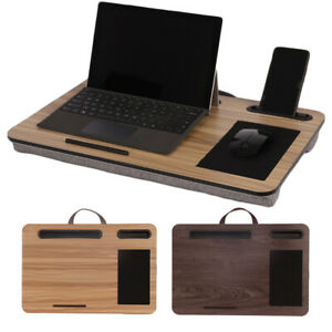 """Home/Bed/Sofa Lap Desk - Fits up to 17"""" Laptop Desk Laptop Stand with Tablet"""