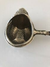 Old Tea Strainer with Wood Handle Not Signed Collector Item