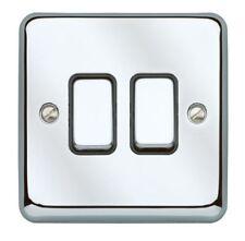 Materiales eléctricos de bricolaje interruptores de luz de color principal negro