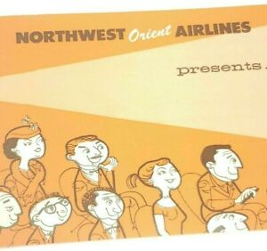 Northwest Orient Airlines Travel Brochure 16mm Sound Color NWA Films