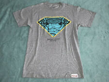 CROOKS & CASTLES DIAMOND SUPPLY CO. COLLAB GRAY T SHIRT TOP TEE SIZE SMALL S