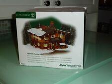 Dept 56 Jägerhütte Alpine Village Jagerhutte #56231 Hunting Cabin Unused In Box