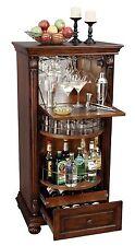 Howard Miller 695-078 (695078) Cognac Wine & Bar Cabinet, Hampton Cherry