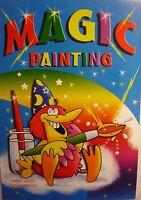 A4 Blue Green Yellow Magic Painting Colouring Book (Add Water) 4 to Collect