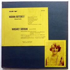 Puccini MADAME BUTTERFLY Margaret Sheridan 3LP Classical MINT-   cla107
