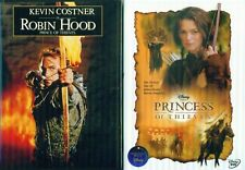 ROBIN HOOD 1- 2: Princess of Thieves+ Princess of Thieves (Disney)- NEW 2 DVD