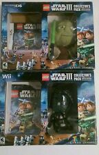 New star wars Lego lll collector pack limited edition nintendo ds game and wii