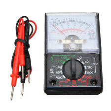 Electric Voltmeter Ammeter Ohmmeter Analog Multimeter Tester Meter Volt Acdc Us